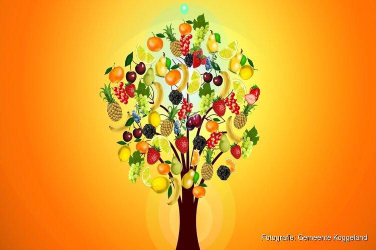 Leerlingen de Caegh en college Koggeland planten fruitgaard