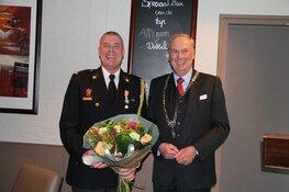 Koninklijke onderscheiding voor brandweervrijwilliger Berkhout