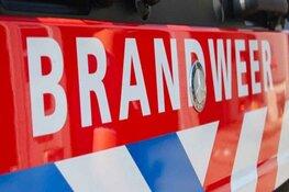 Schoorsteenbrand in woonhuis in Oudendijk