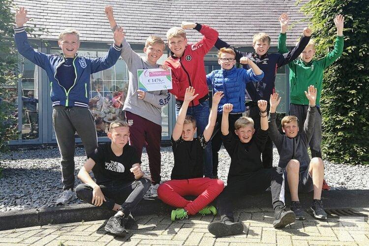 Jongeren zamelen recordbedrag in voor goede doelen