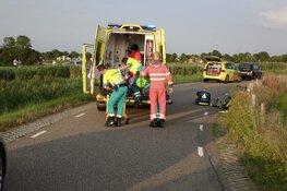 Fietser zwaargewond na aanrijding in Ursem