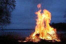 Laatste kerstboomverbranding in Koggenland