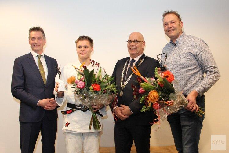 Hans Blaauw vrijwilliger van het jaar en Dave Kok sporter van het jaar