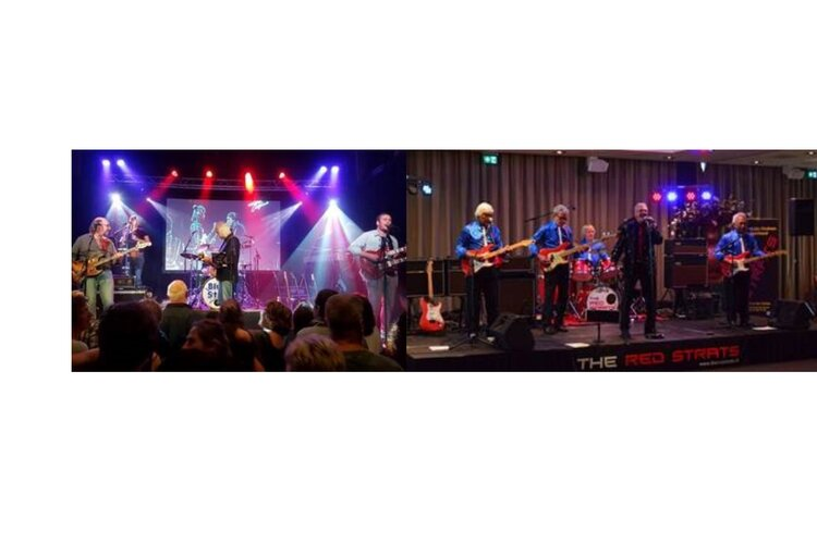 The Red Strats en Blue Star zorgen voor muzikaal spektakel in De Brink Obdam!