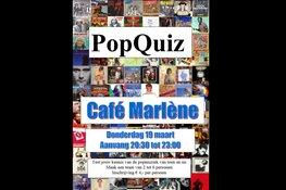 PopQuiz in Marlène op 19 maart