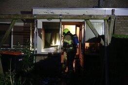 Korte uitstaande brand in woning Obdam