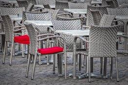 Tijdelijke uitbreiding terrassen bij zes horecalocaties