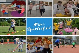 Mini Sportief maakt kleuters enthousiast voor sport
