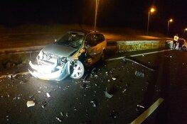 Zwaar ongeval op A7 bij Berkhout: drie gewonden, weg afgesloten